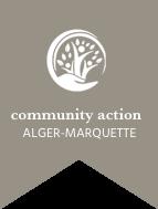 comunity action alger marquette logo