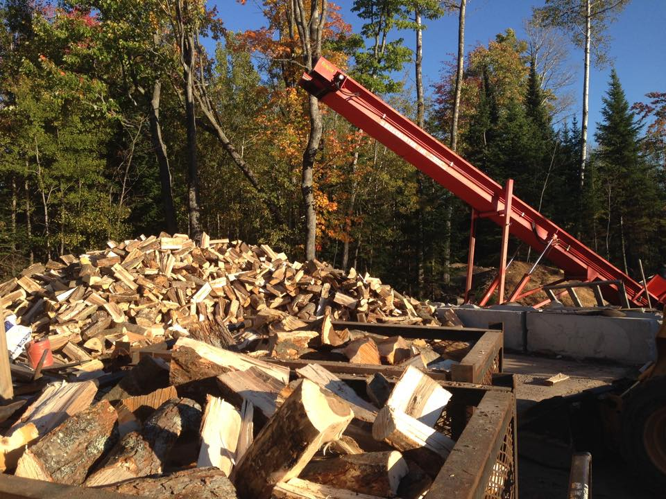 Michigan Fuelwood Products firewood processing